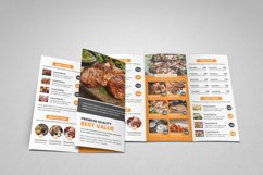 Food Menu Trifold Brochure v2 Product Image 4