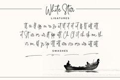 White Star- Chic Handwritten font Product Image 3