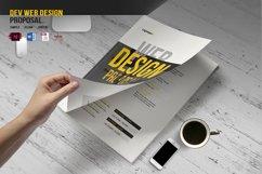 DEV Web Design Proposal Product Image 1