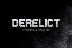 Derelict Typeface Product Image 1