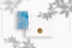 Azure Watercolor Wedding Invitation Suite Product Image 5