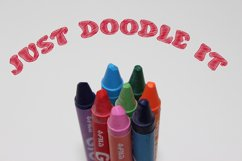 Doodle Classic - Sketch Font Product Image 3