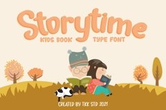 Storytime - Kids Book Font Product Image 1