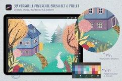 39 Versatile Procreate Brushes - Tool kit Product Image 6