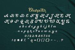 Mentari - Bold Script Font Product Image 6