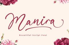 Manira Script Product Image 1