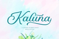 Kaluna Lovely Script Product Image 1