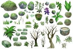 Garden scene creator PNG Product Image 4