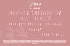 Obsessive - Beautiful Calligraphy Product Image 4