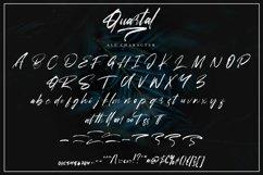 Web Font Quartal - Brush Signature Font Product Image 4