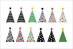 Christmas Trees SVG Clipart Product Image 3