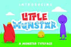 Little Munstar - A Monster Font Product Image 1