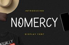 Web Font NoMeRcY Font Product Image 1