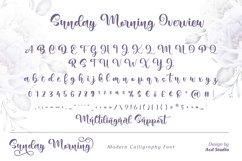 Sunday Morning- Modern Calligraphy Product Image 2