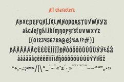 Gunshot typeface Product Image 5