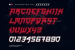 Web Font Nagoya Product Image 4
