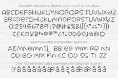Muggsy Sketch - a quirky fun single-line hairline pen font! Product Image 3