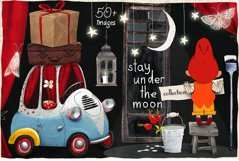 Stay under the moon Graphic Set Product Image 1