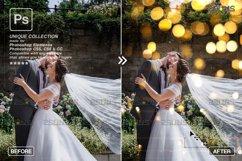 Christmas string light overlay, Fairy bokeh overlay Product Image 6