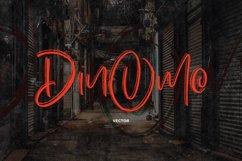 Dinomo SVG Brush Font Product Image 2