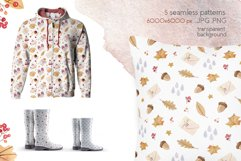 Autumn Vibes Watercolor Collection Clipart Product Image 5