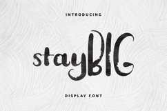 Stay BIG Product Image 3