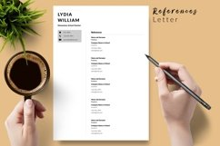 Teacher Resume CV Template for Word & Pages Lydia William Product Image 6