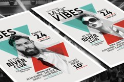 Minimal Music Flyer Template Product Image 4