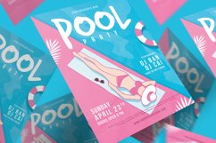 Pool Party Flyer Product Image 1