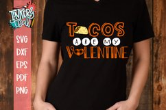 Tacos Are My Valentine SVG Product Image 1