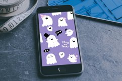 Cute Halloween Ghosts Illustrations Product Image 2