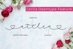 Lovlia | Script and Monogram Font Duo Product Image 6