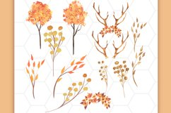 Autumn Forest clipart Product Image 3