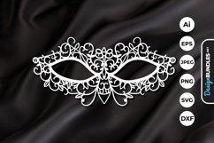 Carnival Mask Papercut Product Image 1