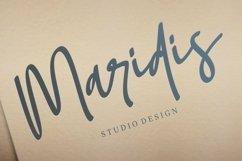 Web Font Soumatis - A Stylish Script Font Product Image 2