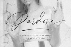 Pardone   Luxury Signature Font Product Image 1