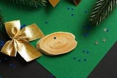 Festive Christmas And New Year Backgrounds Product Image 5