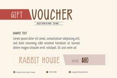 Rabbit House Funky Font Set Product Image 5