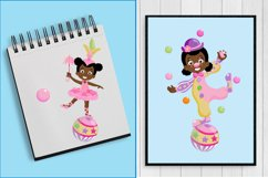 African American Pink Circus pac Product Image 3