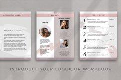 eBook-Workbook Hybrid Canva template | Sandy Product Image 5