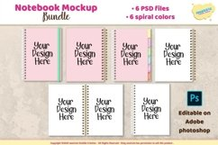 Notebook, planner, journal spiral mockup Product Image 1