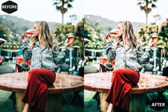 Red Blogger Photoshop Actions And ACR Presets Product Image 3