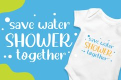 Water Shower - Cute Font Product Image 2