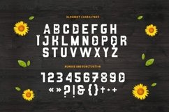SUNFLOWER Font Product Image 4