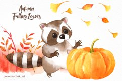Autumn falling leaves Product Image 3