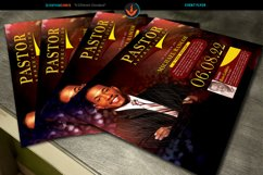 Pastor's Appreciation Church Flyer Photoshop Template Product Image 3