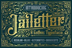 Jailetter Typeface Product Image 1