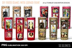 Skinny Tumbler Sublimation - Leopard Print Photo Frames Product Image 4