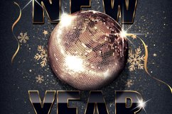 Classy New Year Party Flyer Product Image 2