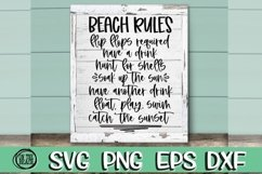 BEACH BUNDLE - 18 DESIGNS - Beach SVG PNG EPS DXF - VOL 5 Product Image 2